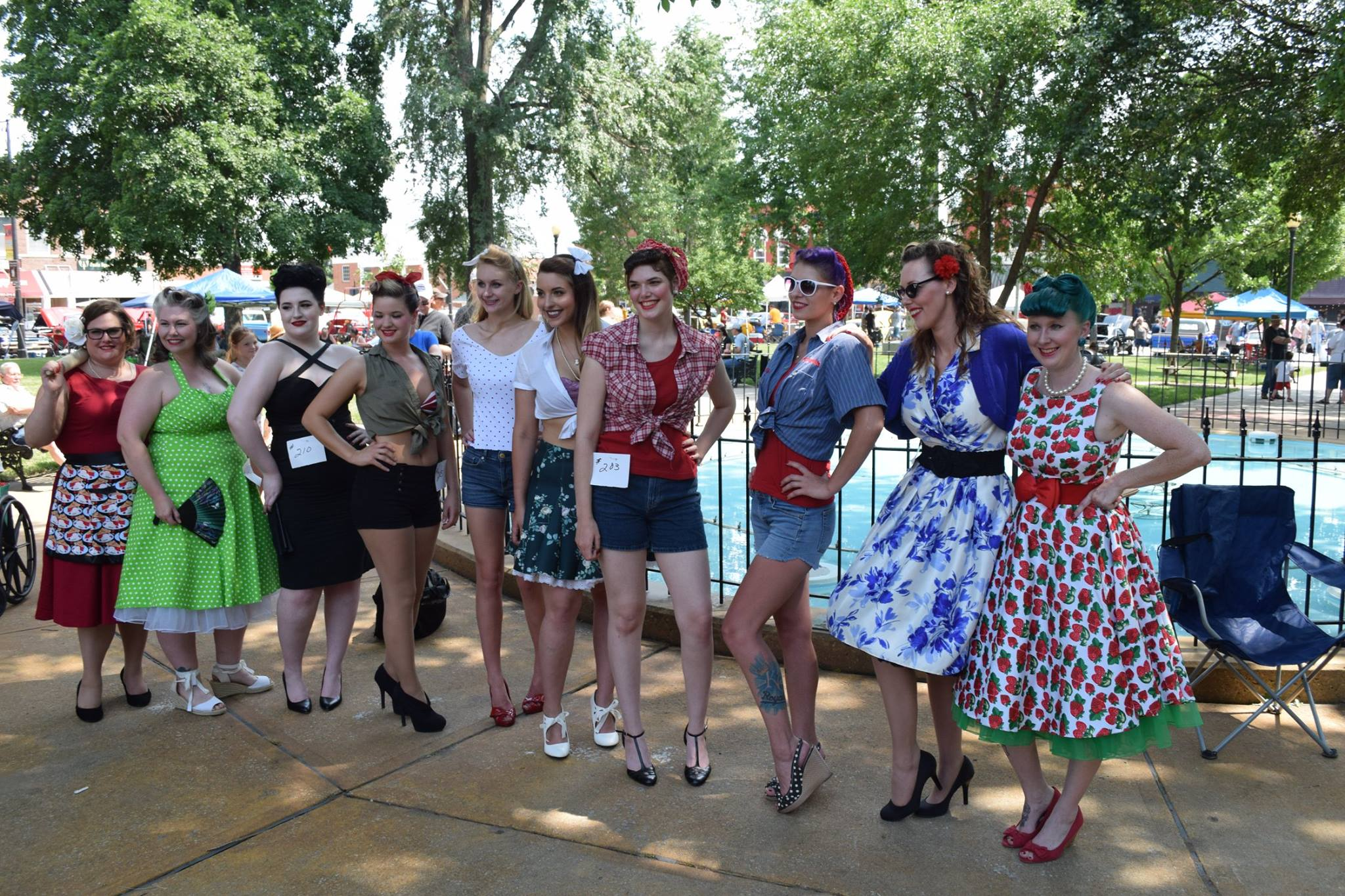 pin up girls 2016