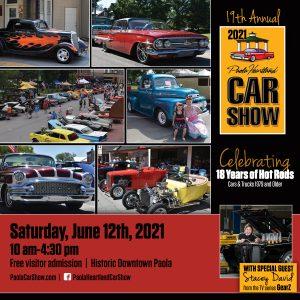 2021 19th Annual Paola Heartland Car Show